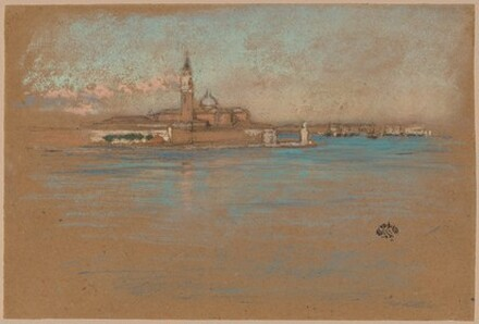 James Abbott McNeill Whistler: The church of San Giorgio Maggiore
