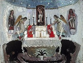 Anne Redpath: Chapel of St Jean