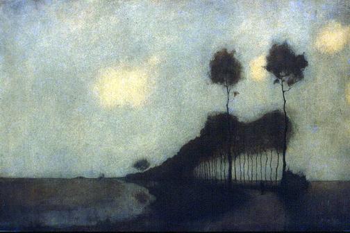 Jan Mankes: Woudsterweg bij Oranjewoud