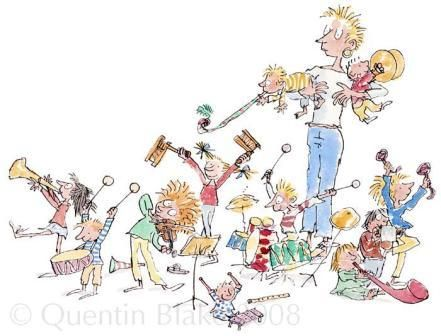 Quentin Blake: The very best of all is when we all join in