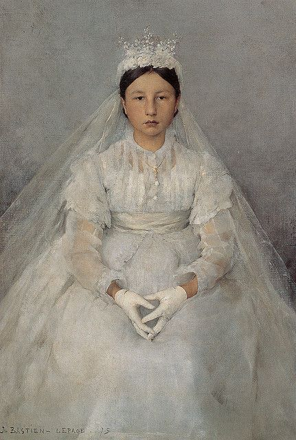Jules Bastien-Lepage: First communion