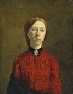 Gwen John; self portrait