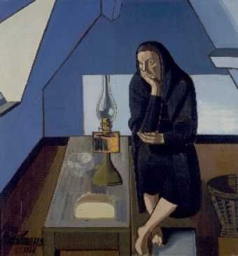 Jean Brusselmans: The attic room