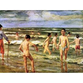badende jongens, Liebermann