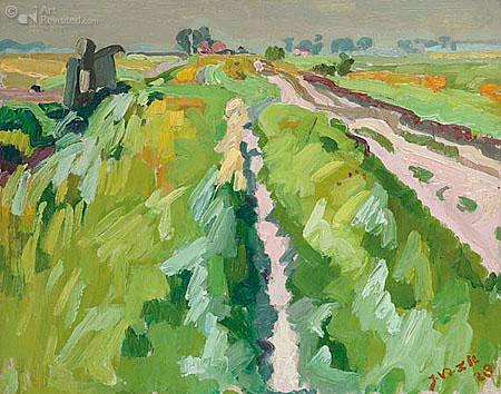 Jan van der Zee: Summer landscape
