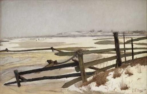 L.A.Ring: Winter landscape