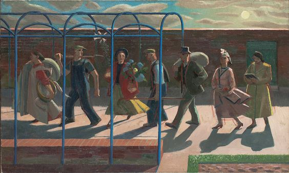 Evelyn Dunbar: Days of the week
