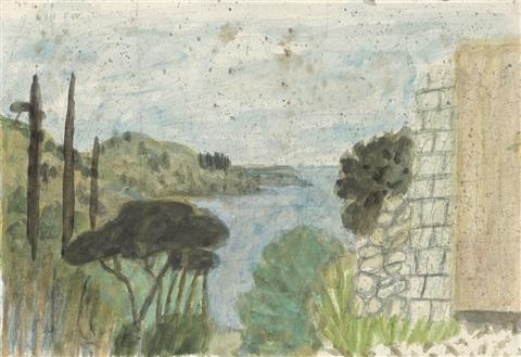 Max Peiffer Watenphul: Südliche Landschaft