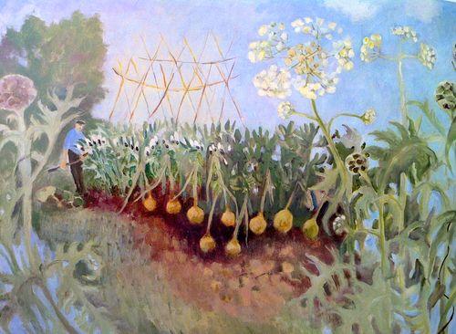 Tessa Newcomb: His onions