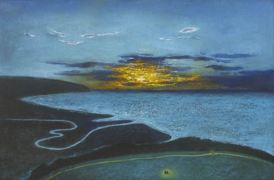 Richard Cartwright: Poets walk at sunset