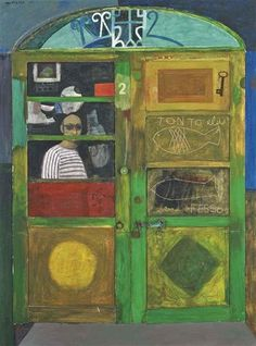 Alberto Morrocco: Door in Orbitello