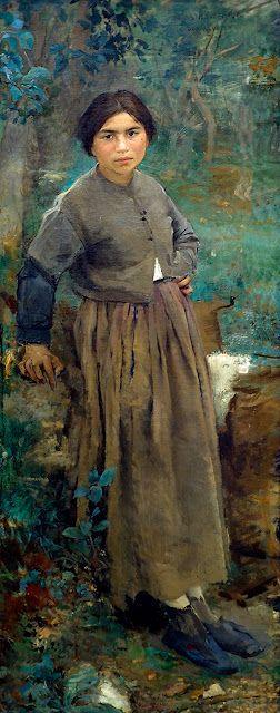 Jules Bastien-Lepage: Peasant woman