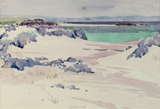 Francis Cadell: White sands, Iona