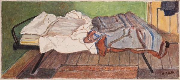 Henry Silk; watercolour
