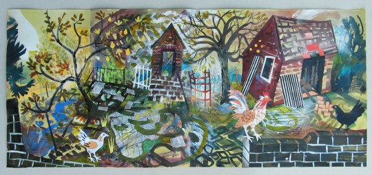 Mark Hearld: tuin