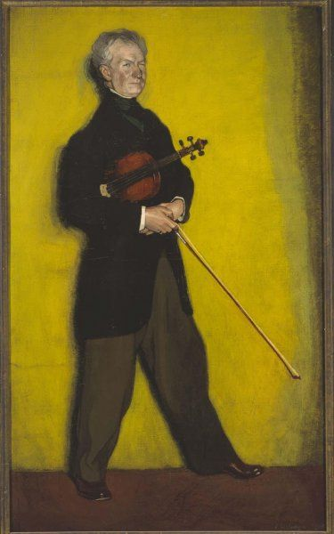 Ignacio Zuloaga: the violonist Larrapidi