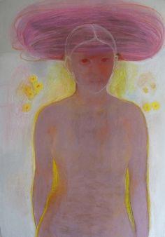 Maartje Strik: Naakt (pastel)