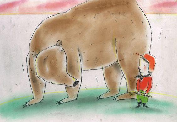 Ingrid Godon: Ik en beer