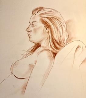 Drawing by Annette Fienieg