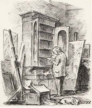 Edward Ardizzone: self portrait