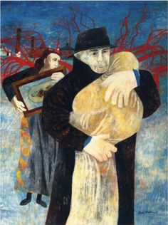 Ben Shahn: Father and child