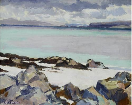 Francis Cadell: Iona