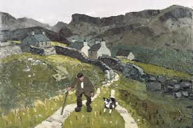 Kyffin Williams: The road to the cottages