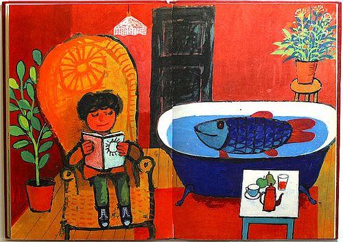 Max Velthuijs: De jongen en de vis