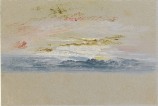 William Turner: sunset