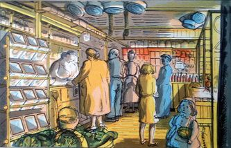 Edward Bawden: The grocer