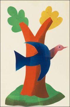 Hendrik Werkman: Vogel