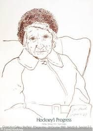 David Hockney: the artist's mother (?)