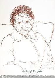David Hockney: the artist's mother (?)