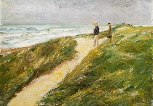 Max Liebermann: Beach at Katwijk