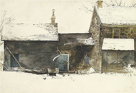Andrew Wyeth: Washing tub