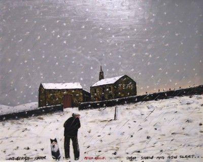Peter Brook: At first rain, then snow, now sleet