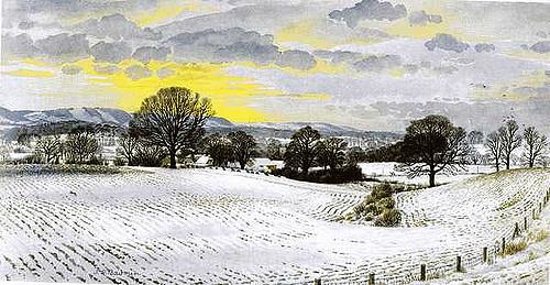 Stanley Roy Badmin: winter landscape