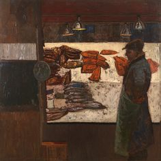 William Bowyer: The fishmonger