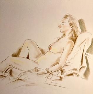 modeltekening door Annette Fienieg