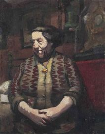 Ruskin Spear: The landlady