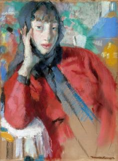 Rik Wouters: The red mantille