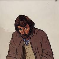 Kyffin Williams: self portrait (?)