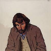 Kyffin Williams: self portrait (?)