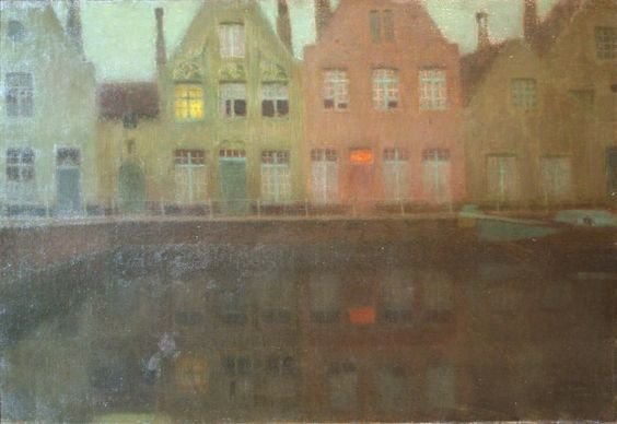 Henri Le Sidaner: The quay