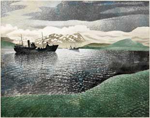Eric Ravilious: Noorwegen
