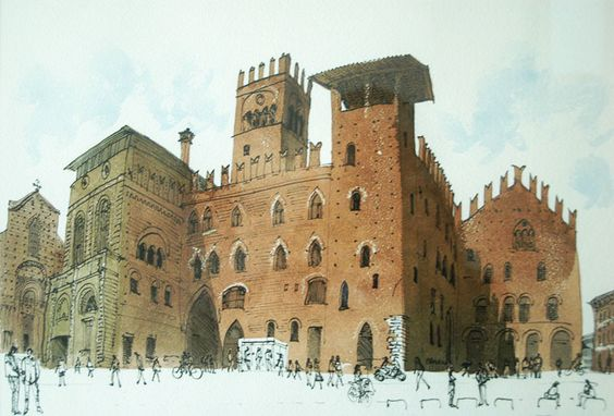 David Gentleman: Bologna