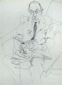David Hockney: Igor Stravinsky