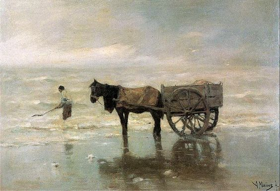 Anton Mauve: Shell fisher
