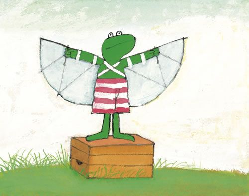 Max Velthuijs: Frog wants to fly