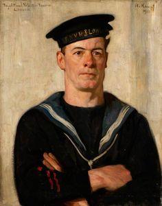 Arthur Kampf: Portret van Cecil Arthur Tooke